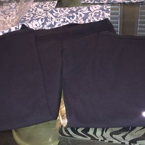 Lululemon black size twelve